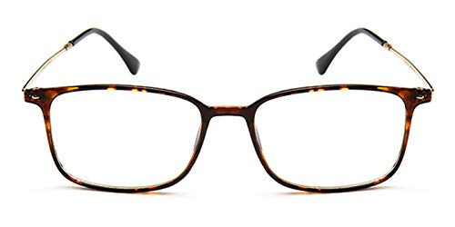 TIJN Lesebrille Anti-Blaulicht Lesebrille Blaulichtfilter Brillen Computer Lesebrille Damen Herren +1.5