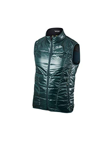 FALKE Herren Laufweste Running Primaloftweste 'Insulation' Men, Holly, XL, 38274 -