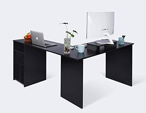 Scrivania Angolo Computer : Scrivania per ufficio e computer a forma di l ad angolo retto