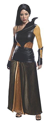 Rubie's 300 Artemisia Film Kostüm 5 TLG Damen Kostüm mit Kleid Gürtel Armschiene Handschuh Armband - - Filme Mit Kostüm