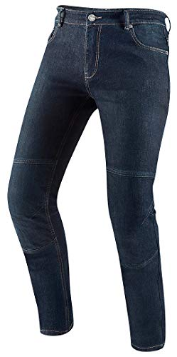 Black-Cafe London Fame Motorrad Jeans 38