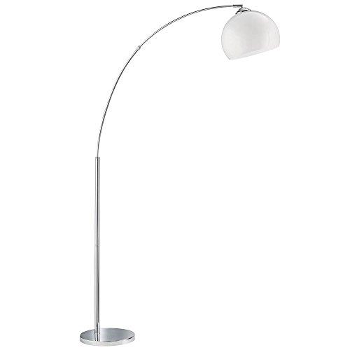 LED RGB 7 Watt Farbwechsler Bogen Lese Lampe Steh Leuchte Fernbedienung Dimmer