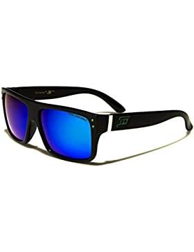 Polarizados DXTREME Deporte Rectangular clásico gafas de sol Hombre Mujer Unisex Con Espejo Lentes & Vibrante...