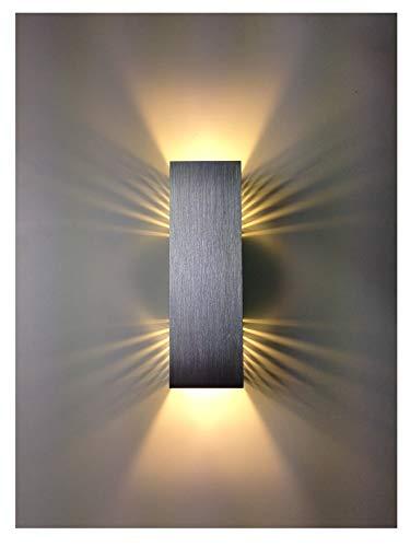 SpiceLED Wandleuchte | ShineLED-14 | 2x7W Warmweiß | Schatteneffekt | High-Power LED Wandlampe dimmbar