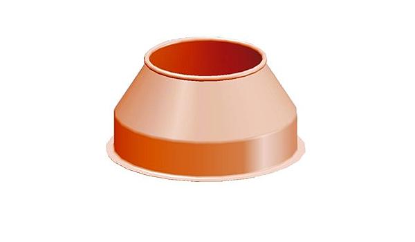 ATIKA ErsatzteilMischtrommel-Oberteil für Betonmischer Focus 185 Format 190