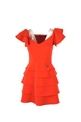 a8f68ae07a51 Elisabetta Franchi Abito Donna 46 Arancione Ab70192e2 Primavera Estate 2019