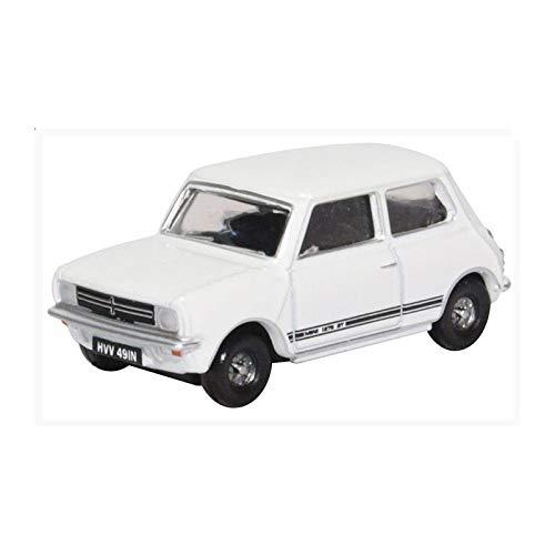 Oxford 226681 Mini 1275 GT Weiss Maßstab 1:76 Rechtslenker