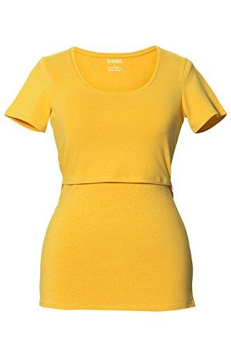 BOOB® Le T-shirt d'allaitement top de grossesse top de grossesse Sunny Yellow