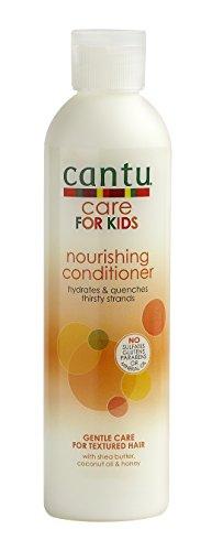 Nährende Pflegespülung für Kinder von Cantu - Sheabutter, 237ml -