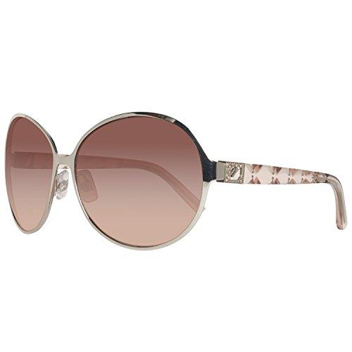 Swarovski sk0023-6316f, occhiali da sole donna, argento (shiny palladium), 63