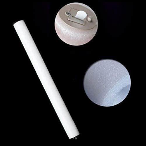 Yozhanhua 20 Stück bunte Schwamm-Schaumstoff-Glühstäbe, LED-Blinklicht-Effekt, Farbwechsel-Schaum, Stroboskop-Party -