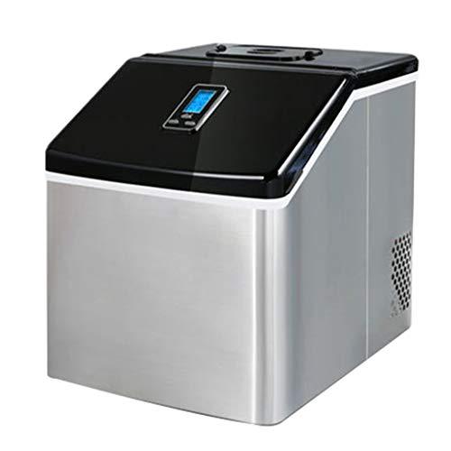 FEINI Eismaschine, Haushalt Und Gewerbe Mit Doppeltem Verwendungszweck, Schnelle Eisherstellung In 13 Bis 20 Minuten, 25 Kg EIS In 24 Stunden, Keine Installation Erforderlich, Einfache Verwendung