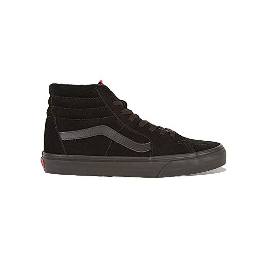 Vans U Sk8 Hi - Baskets Mode Mixte Adulte - Noir (Black/Black) - 42 EU (Taille Fabricant : 9 US)