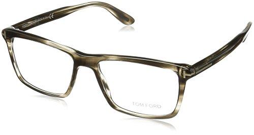 Tom Ford Herren Ft5407 Brillengestelle, Grau, 54