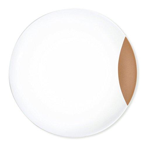 Bruno Evrard Assiette Plate en Porcelaine 27cm - Lot de 6 - DEMIOS