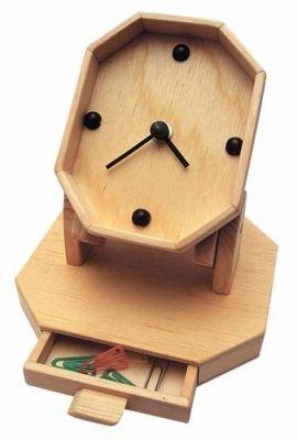 Schreibtisch-Quarzuhr Bausatz und Lernspielzeug K96338 Bausatz für Kinder und Jugendliche