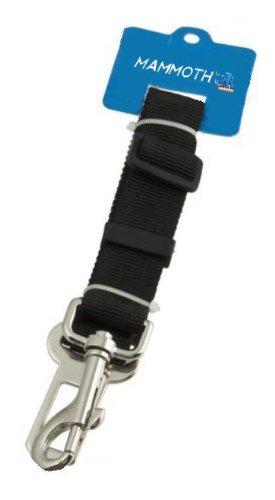 hundeinfo24.de Hunde Sicherheitsgurt für das Auto *Schwarz*