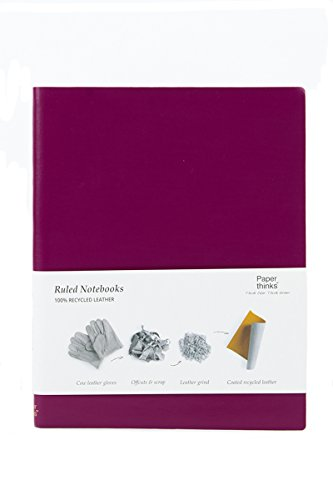 paperthinks-100-recycled-leather-xl-ruled-notebook-claret-purple