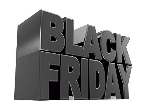 Vinilo Black Friday Escaparates Rebajas texto Black