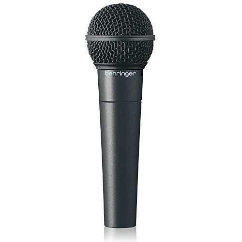 Behringer XM8500 - Micrófono (cardioide, 150 Ohms), color negro