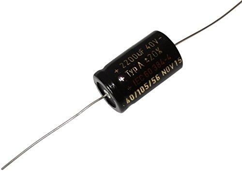 5 x Condensatore elettrolitico chimico 470/µF /± 20/% 50V THT 105/°C 1000h radiale /Ø12.5 x 20 mm . Aerzetix
