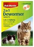 Bob Martin 2 in 1 Dewormer for Cats & Kittens