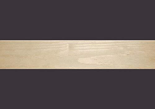 Furnierkante Fichte, geschliffen, mit Schmelzkleber (E1 gem. EN 717-1), Breite 24mm, Stärke 0,6mm, Länge 50m