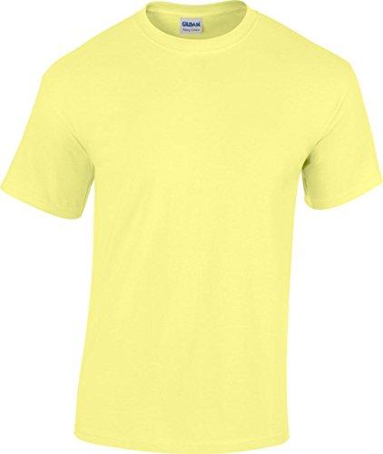 GILDAN -T-shirt  Uomo-Donna Cornsilk
