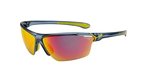 Cébé Cinetik - Gafas de sol deportivas, color azul mate translúcido