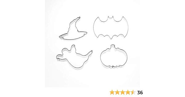 2 ensembles de petites Chauve-souris découpées de formes CARTE NOIRE Assorted Designs silhouette de Sanctifier