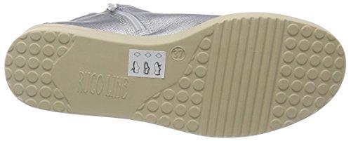 AGILE BY RUCOLINE , Baskets pour femme Argent