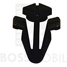 Original Bossmobil Parilla Del Ruedaiador Fijacións Clip Terminal Negro UNIVERSAL 8 x X 18 ...