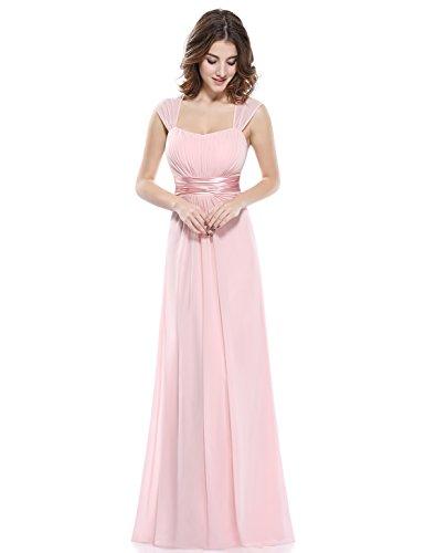 Ever Pretty Robe de Soirée Robe de la Demoisellle d'honneur Empire 08834 Rose (B)