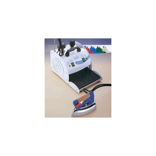 31qq7OSrrGL. SS500  - SNAIL Commercial Ironing System - 2-litre Boiler, Vacuum and Heated Ironing Board Table & Iron + FREE Iron Shoe
