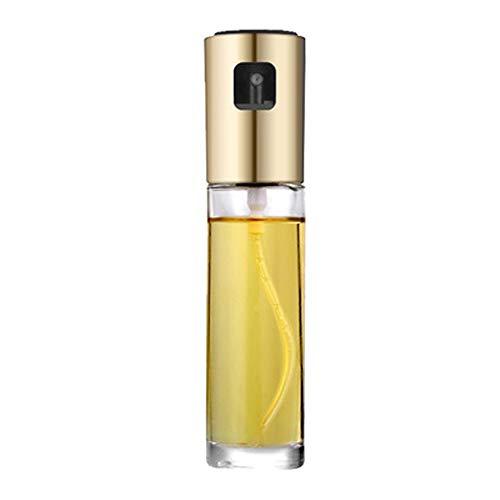 Baoniansoo Olivenölsprüher Zum Kochen Set Nachfüllbarer Ölsprüher Lebensmittelgeeigneter Glasölsprüher Dosiergerät Maße und tropffreier Auslauf Edelstahl