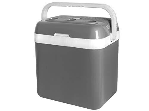 MALATEC Elektrische Kühlbox Wärmebox (22L 24L 29L 32L) 12V/230V für KFZ/Camping 1039, Größe:32L