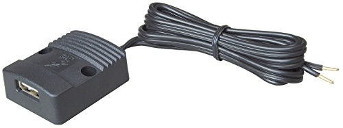 Preisvergleich Produktbild ProCar 67339000 Flache Power USB Steckdose 12-24 V/5 V