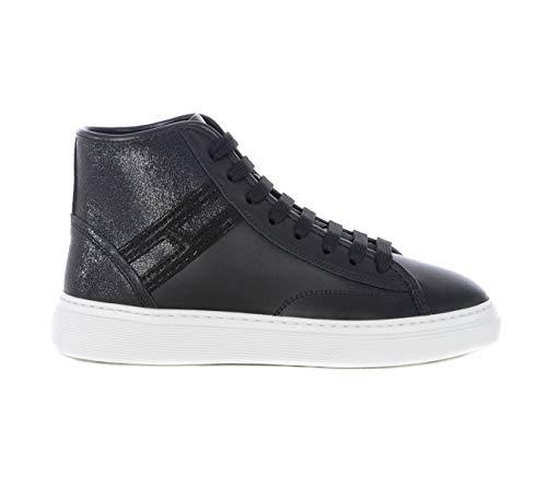 Hogan Sneaker H366 Nero, Donna, Taglia 37.
