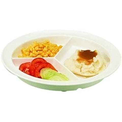 North Coast Medical NC35699 GripWare Partitioned Scoop Dish by North