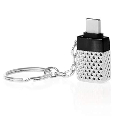 BULAGE Metall Typ C Stecker auf USB 3.0 Buchse OTG Konverter Adapter für MacBook Xiaomi S8 -
