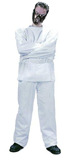 GYD Hannibal-Kostüm hannibal Lecter für Herren Oberteil + Hose + Maske One (Hannibal Maske)