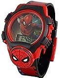 Marvel Spiderman - Reloj Digital para niños Thwip con Cara de luz e Icono