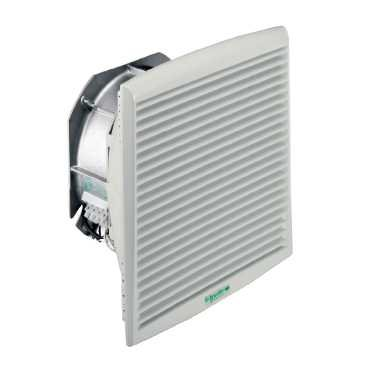 Schneider NSYCVF560M115PF Climasys-Lüfter IP54, 560M³/H, 115V, mit Ausgangsgitter und Filter G2 115v Lüfter