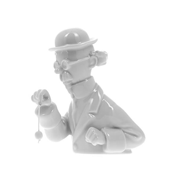 Moulinsart Busto de Porcelana Tintín Tornasol péndulo Brillante 13cm - 44209 (2015) 1