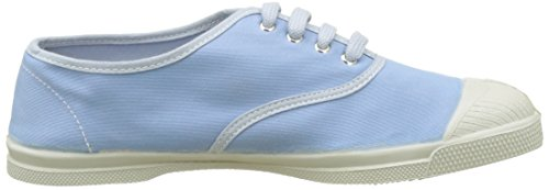Bensimon Tennis Vintage Lacet, Baskets Basses Femme Bleu (Bleu Clair)