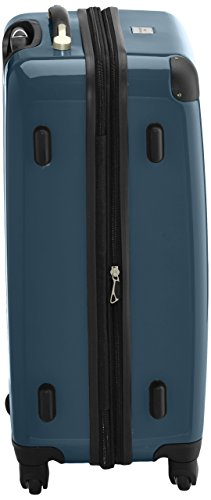 HAUPTSTADTKOFFER - Alex - 2er Koffer-Set Hartschale glänzend, 65 cm, 74 Liter, Graphit-Schwarz Waldgrün-Schwarz
