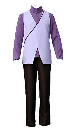 Chong Seng CHIUS Cospaly Costume Hidden Leaf Village Shinobi Uchiha Sasuke Outfit Ver 7
