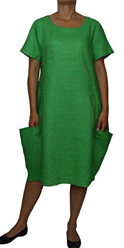 einen Sommerkleid Freizeitkleid Farbe Grün Konfektionsgröße 46 Internationale Größe 3XL grün Gr. 46/3XL (Internationalen Kleid)