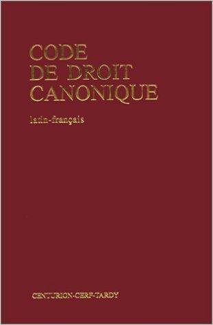 Code de droit canonique latin/français de Collectif ( 26 novembre 1984 )