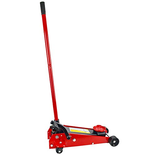 3 Ton Carrello idraulico Martinetto con veloce del pedale di sollevamento